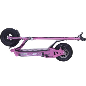 UberScoot 300w Electric Scooter folded