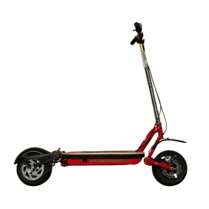 Go-Ped ESR750H Hoverboard Electric Scooter red side